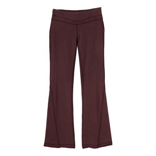 Womens Prana Linea Full Length Pants - Rich Cocoa XL