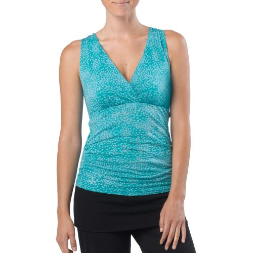 Womens Prana Mikayla Tanks Technical Tops - Dragonfly Petal M