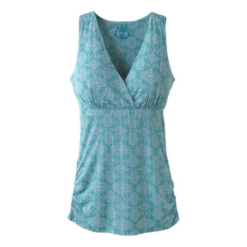Womens Prana Mikayla Tanks Technical Tops - Meadowbrook L