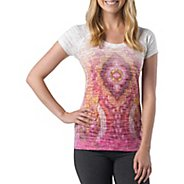 Womens Prana Goddess Tee Short Sleeve Technical Tops