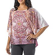 Womens Prana Paradise Short Sleeve Technical Tops