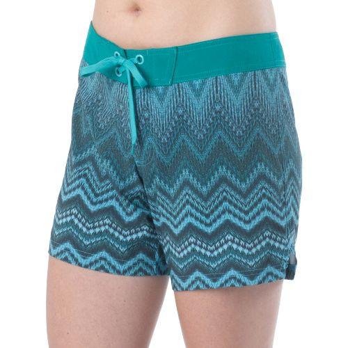 Womens Prana Makenna Board Unlined Shorts - Dragonfly XL
