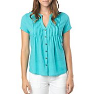 Womens Prana Ellie Short Sleeve Non-Technical Tops