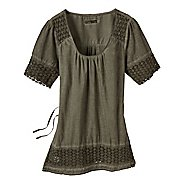 Womens Prana Heather Short Sleeve Non-Technical Tops