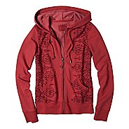 Womens Prana Brandie Hoodie Warm-Up Hooded Jackets