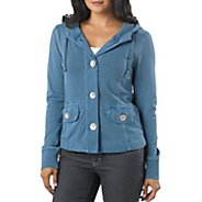 Womens Prana Janelle Warm-Up Unhooded Jackets