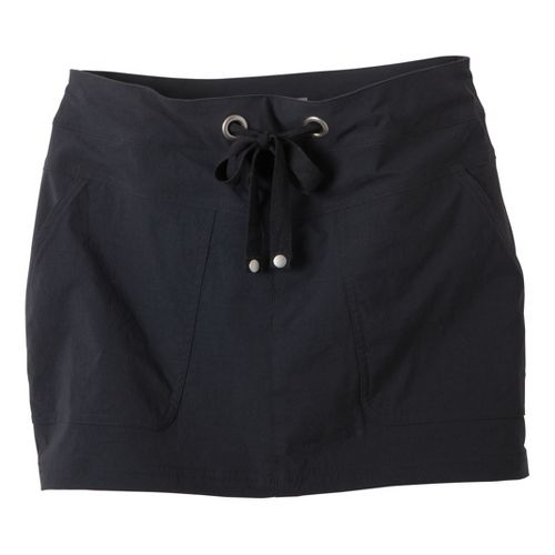 Womens Prana Bliss Skort Fitness Skirts - Black S