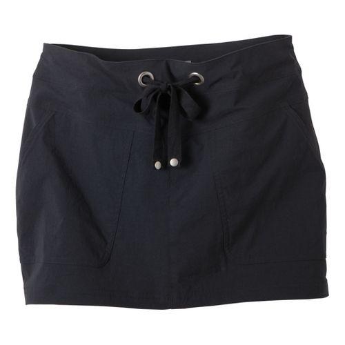 Womens Prana Bliss Skort Fitness Skirts - Black XS