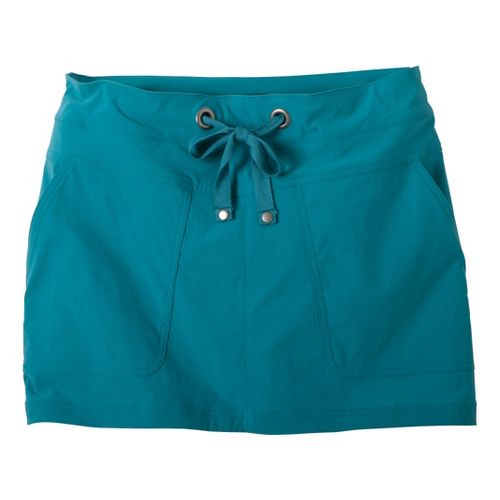 Womens Prana Bliss Skort Fitness Skirts - Capri Blue XL