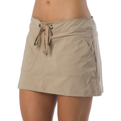 Womens Prana Bliss Skort Fitness Skirts - Khaki XL