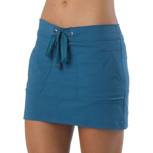 Womens Prana Bliss Skort Fitness Skirts - Gravel XL