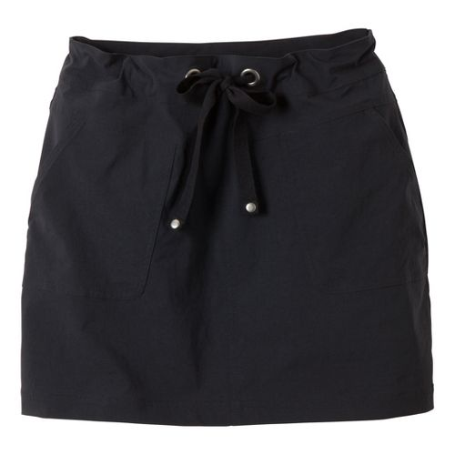 Womens Prana Bliss Fitness Skirts - Black S