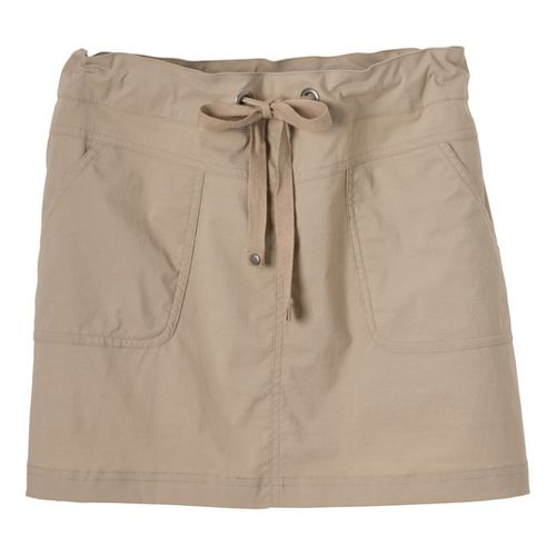 Womens Prana Bliss Fitness Skirts - Khaki L