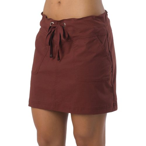 Womens Prana Bliss Fitness Skirts - Raisin XL