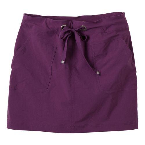 Womens Prana Bliss Fitness Skirts - Raspberry XL