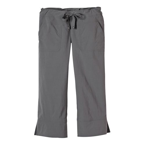 Womens Prana Bliss Capris Pants - Gravel S