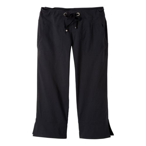Womens Prana Bliss Capris Pants - Black M