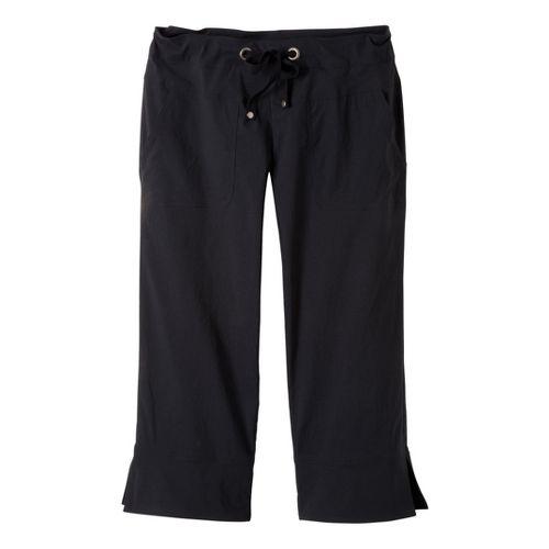 Womens Prana Bliss Capri Pants - Black XL