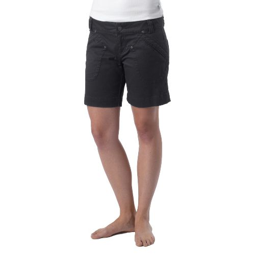 Womens Prana Randie Unlined Shorts - Coal OS