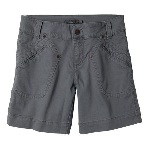 Womens Prana Randie Unlined Shorts - Gravel 2