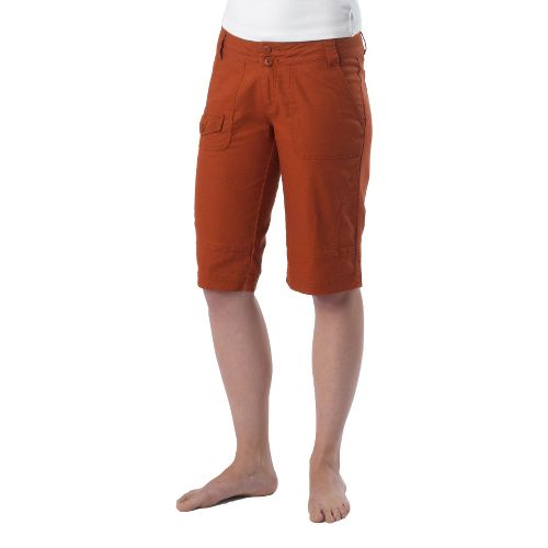 Womens Prana Kelly Knicker Unlined Shorts - Picante 12
