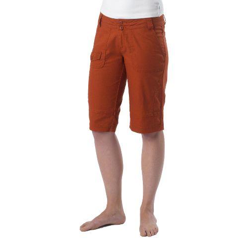 Womens Prana Kelly Knicker Unlined Shorts - Picante 4