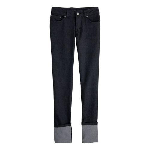 Womens Prana Kara Jean Capri Pants - Black 4