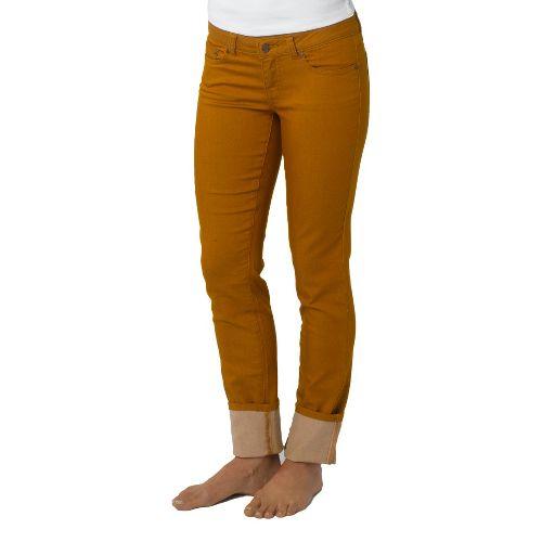 Womens Prana Kara Jean Capri Pants - Cumin 10