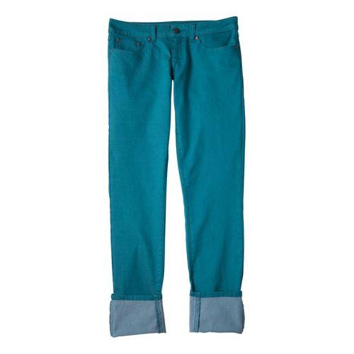 Womens Prana Kara Jean Capri Pants - Capri Blue 4