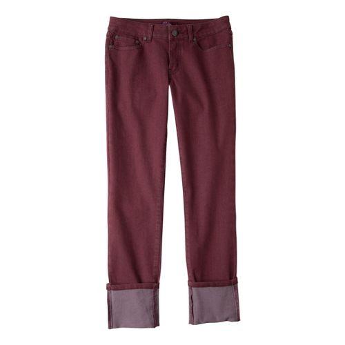 Womens Prana Kara Jean Capri Pants - Port 2