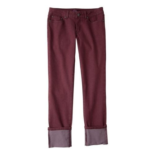 Womens Prana Kara Jean Capri Pants - Port 8