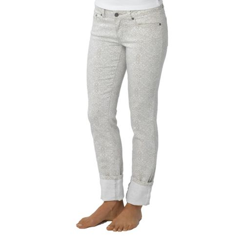 Womens Prana Kara Jean Capri Pants - Summer Plum 10