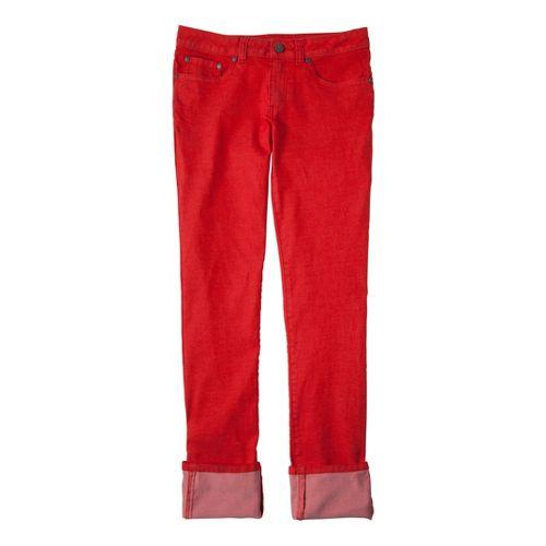 Womens Prana Kara Jean Capri Pants - Spice 4