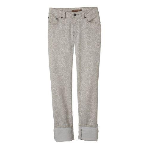 Womens Prana Kara Jean Capri Pants - Stone 4