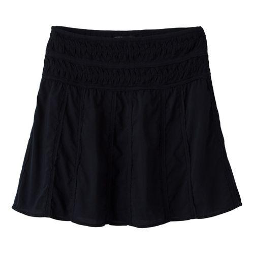 Womens Prana Erin Fitness Skirts - Black 2