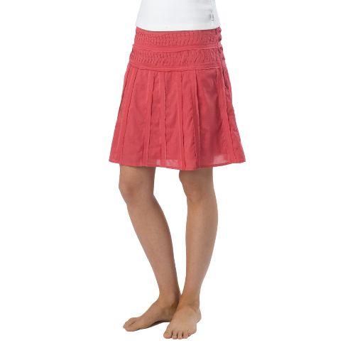 Womens Prana Erin Fitness Skirts - Dusty Rose OS