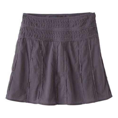 Womens Prana Erin Fitness Skirts - Gravel 16