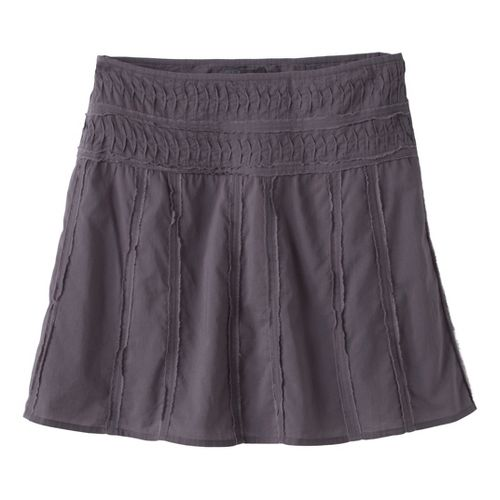Womens Prana Erin Fitness Skirts - Gravel 8