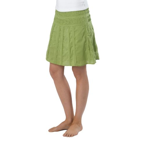 Womens Prana Erin Fitness Skirts - Spinach 4