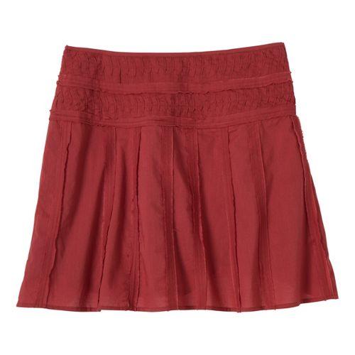 Womens Prana Erin Fitness Skirts - Tomato 12