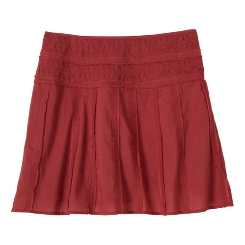 Womens Prana Erin Fitness Skirts - Tomato 14