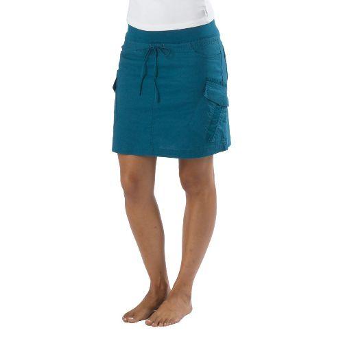 Womens Prana Bailey Fitness Skirts - Ink Blue S
