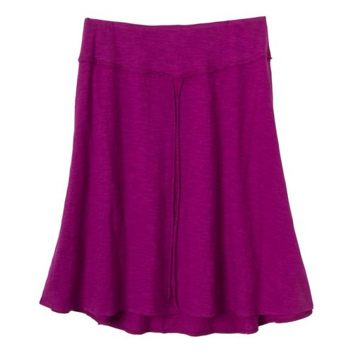 Womens Prana Dahlia Fitness Skirts - Berry XL
