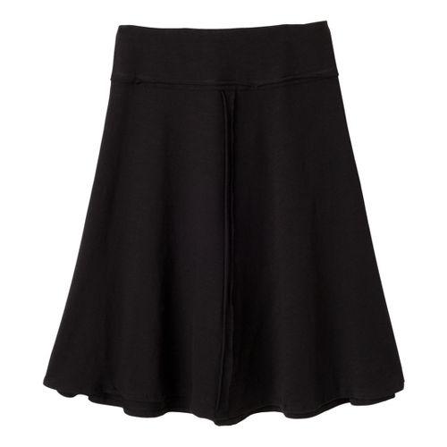 Womens Prana Dahlia Fitness Skirts - Black M