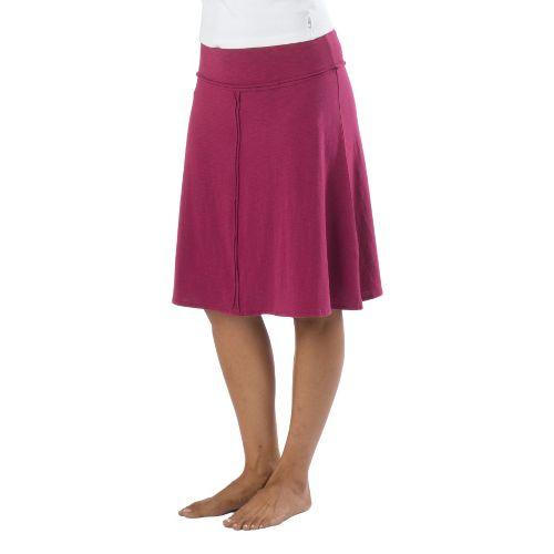 Womens Prana Dahlia Fitness Skirts - Boysenberry M