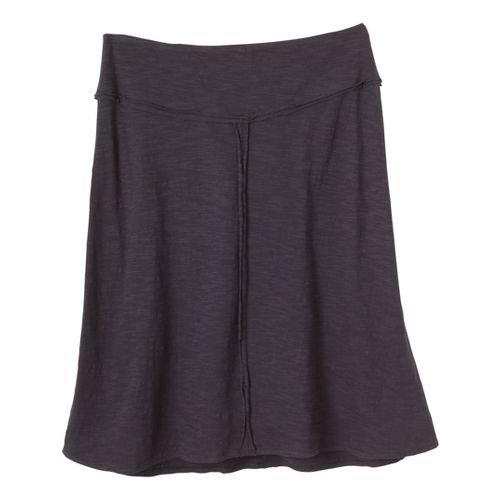 Womens Prana Dahlia Fitness Skirts - Coal S