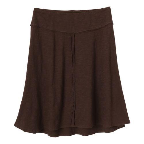 Womens Prana Dahlia Fitness Skirts - Espresso XS