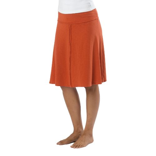 Womens Prana Dahlia Fitness Skirts - Indian Red XS