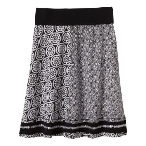 Womens Prana Lisette Fitness Skirts - Black S