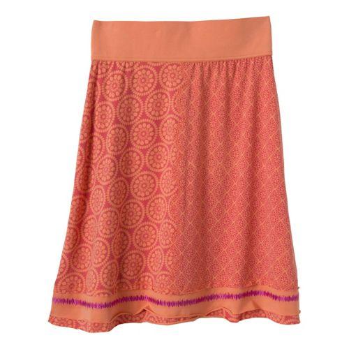 Womens Prana Lisette Fitness Skirts - Cardinal S